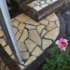 実家の庭の大改造㉗ ステップ完成♪